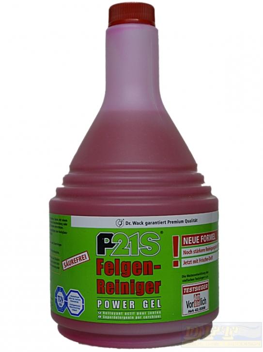 P21S Felgenreiniger Power Gel 1000 ml Nachfüllpack,
