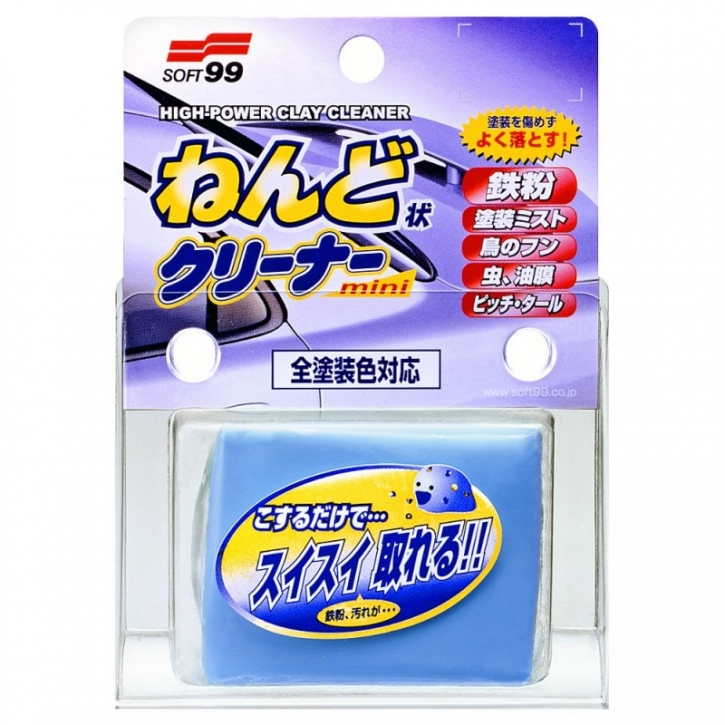 Soft99 Surface Smoother Mini Reinigungsknete 100 g