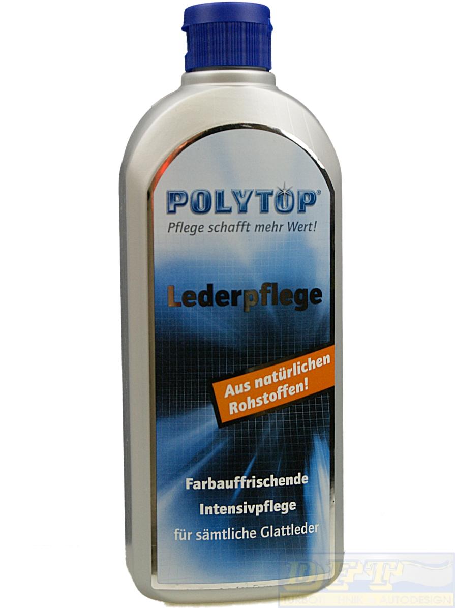 polytop lederpflege 500 ml reiniger und pflege f r glattleder 800046. Black Bedroom Furniture Sets. Home Design Ideas