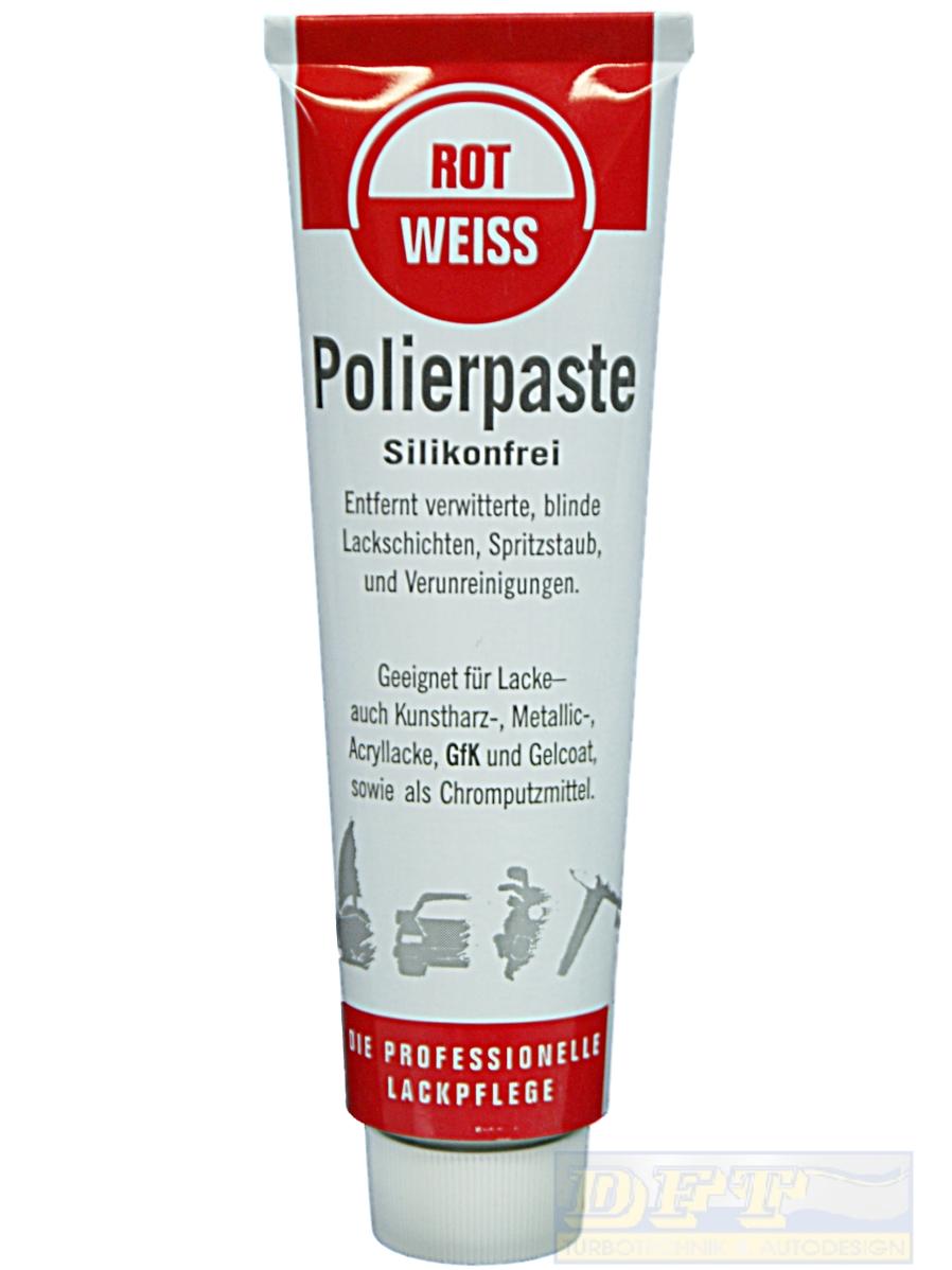 rotweiss polierpaste lackpolitur 100 ml tube 700003. Black Bedroom Furniture Sets. Home Design Ideas