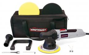 Dino KRAFTPAKET Poliermaschine Exzenter 9mm 650 Watt