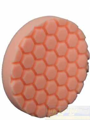 "Chemical Guys Hex Logic Polierpads 6,5"" 165 mm Orange"