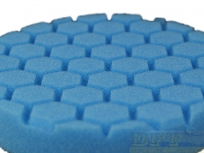 Chemical Hex Logic Polierpads/ Maschinenpads, 5,5 Zoll 140 mm Blue Soft Polishing/Finishing Pads in blau