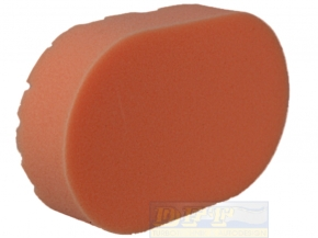 Chemical Guys Hex Logic Hand-Applicator Orange,