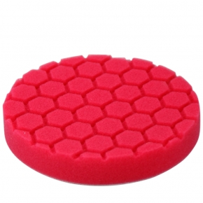 Chemical Guys Hex Logic Polierschaum Rot 5,5 Zoll 140mm Ultra Fine Finishing Pad