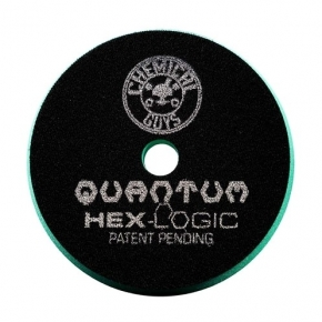 "Chemical Guys Hex Logic Quantum Heavy Polish Polierpad grün 5,5"" 139 mm"