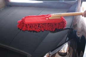 Original California Car Duster, Staubbesen  inkl. Tasche,