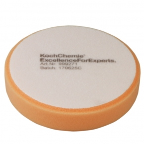 Koch Chemie Antihologrammpolierschaum orange gerundet  135 x 30 mm