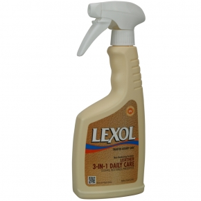 Lexol Leather 3- in 1 Daily Care Lederpflege 500 ml,
