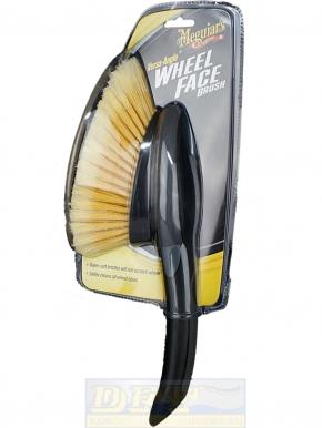 Meguiar`s Versa Angle Wheel Face Brush, weiche Felgenbürste,
