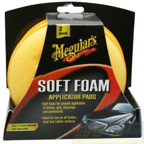 Meguiar`s Soft Foam Applicator Pads Allrounder 2er Pack
