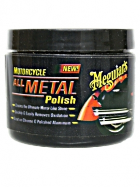 Meguiar´s Motorcycle/Motorrad All Metal Polish 170g,