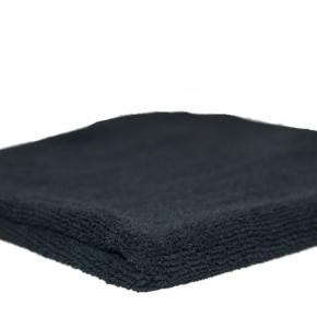 ROTWEISS Microfasertuch Soft -schwarz 40 x 40 cm,