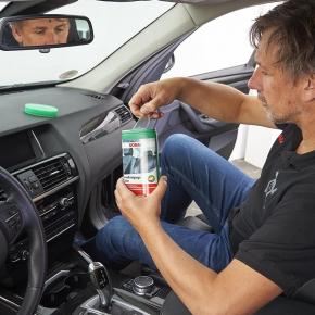 SONAX CockpitPflege Tücher matteffect SpenderBox