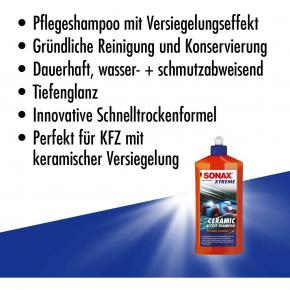 Sonax Ceramic Active Shampoo mit der SI-Carbon Technologie 500ml