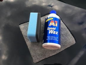 Dr.Wack A1 Speed Wax Set inkl. Applicator und Microfasertuch